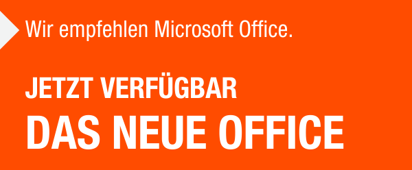 Das neue Office für Windows 10