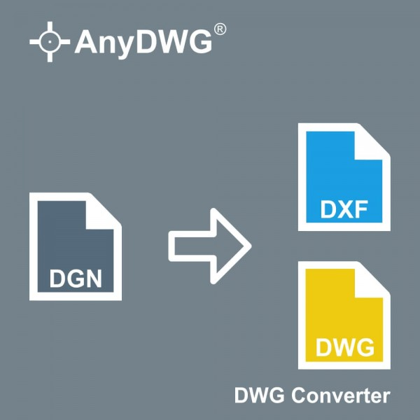 DGN to DWG Converter [1 User] ESD